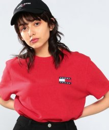 TOMMY JEANS/ロゴワッペンTシャツ /502363341