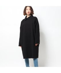 GUESS/ゲス GUESS DAPHNE REVERSIBLE COAT (BLACK WHITE COMBO)/502951860
