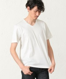 S.ESSENTIALS MENS/【2nd SKINシリーズ】長く付き合える VネックTシャツ/502961148