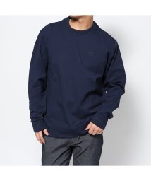 GUESS/ゲス GUESS WAYLON FLEECEE CREWNECK SWEAT (BLUE NAVY/BLUE)/502962405