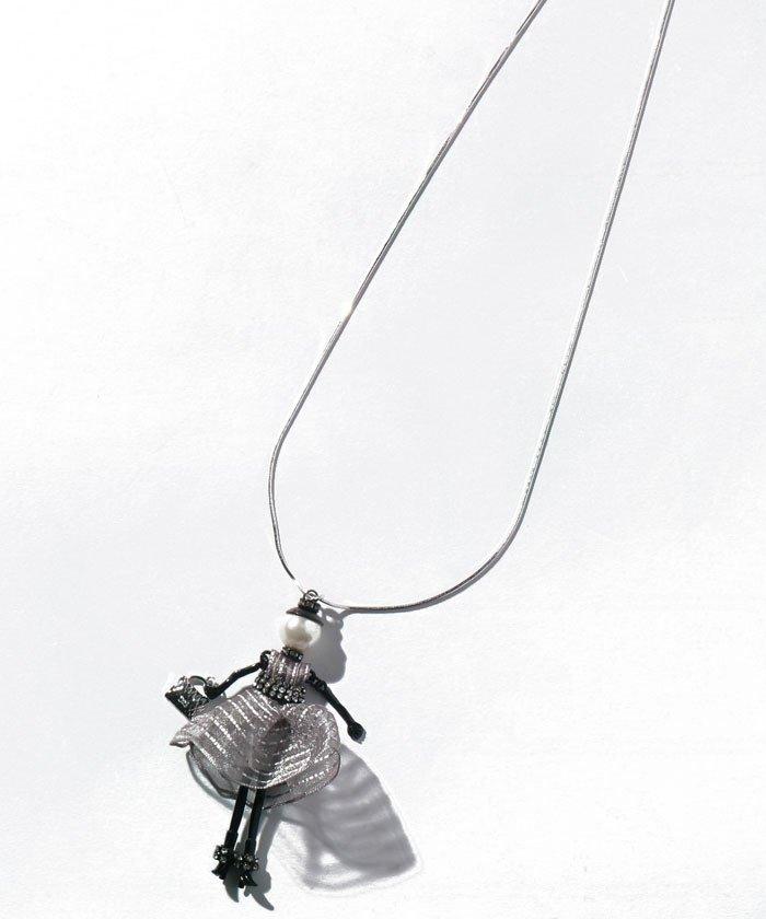 レリアン ドールチャームペンダント レディース ホワイト F 【Leilian】