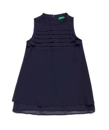 BENETTON (UNITED COLORS OF BENETTON GIRLS)/クレープノースリーブワンピース/502974104