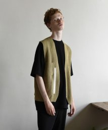 GLOSTER/【unfil / アンフィル】シップアップ ニットベスト zipup vest #WZSP-UM207/502994638