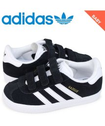 adidas/アディダス オリジナルス adidas Originals ガゼル スニーカー ベビー ガッツレー ベルクロ GAZELLE CF I ブラック CG3139/503003305