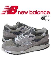 newbalance/ニューバランス new balance 998 スニーカー メンズ Dワイズ MADE IN USA グレー M998 GY [予約 1/28 再入荷予定]/503003503