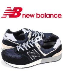 newbalance/ニューバランス new balance 574 メンズ スニーカー MLP574CB Dワイズ ブラック/503003533