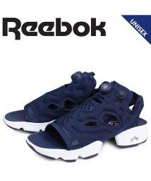 Reebok/リーボック Reebok インスタ ポンプフューリー サンダル スポーツサンダル メンズ レディース INSTAPUMP FURY SANDAL ネイビー DV/503004086