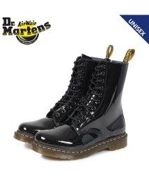 Dr.Martens/ドクターマーチン Dr.Martens 10ホール 1490 W ブーツ メンズ レディース PATENT LAMPER 10EYE BOOT ブラック 黒 R/503004640