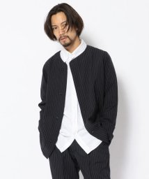 UNCUT BOUND/the conspires(コンスパイアーズ)  striped uc jacket/503004972