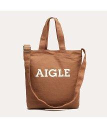 AIGLE UNISEX/コットンキャンバス ロゴトートバッグ/503005041