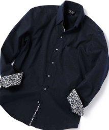 Men's Bigi/【ストレッチ/ウォッシャブル】EVALETサッカーストライプシャツ/503005133
