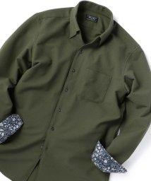 Men's Bigi/【ストレッチ/ウォッシャブル】EVALETサッカーシャツ/503005134