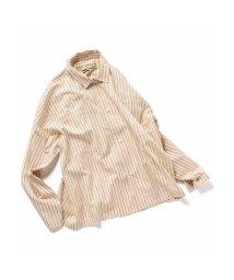 ADITIONAL/ストライプボックスシャツ/503005138