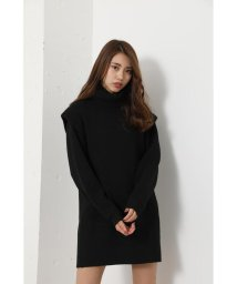 rienda/Power Shoulder Knit OP/503005230