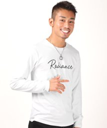 LUXSTYLE/RADIANCEプリントロンT/ロンT メンズ 長袖Tシャツ ロゴ プリント RANIANCE/503005550