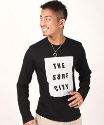 LUXSTYLE/グラフィックロゴプリントロンT/Tシャツ メンズ ロンT クルーネック ロゴプリント BITTER ビター系/503005551