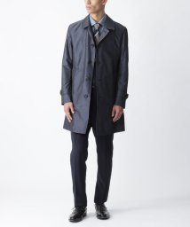 BLACK LABEL CRESTBRIDGE/シャンブレーライトウェイトステンカラーコート/503006362