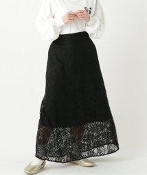 framesRayCassin/花レースロングスカート/503006606