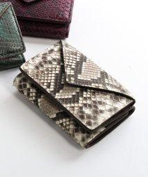 HALEINE/[HALEINE]ダイヤモンドパイソンレザー蛇革ミニ財布/503006844
