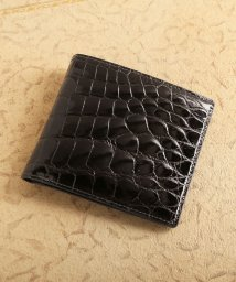 sankyoshokai/クロコダイルレザー折り財布シャイニング加工両カード/503006855