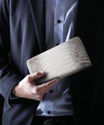 sankyoshokai/ヒマラヤクロコダイルレザー長財布手帳型ラウンドファスナー/503006871