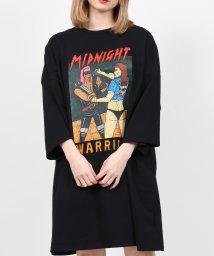 PUNYUS/MIDNIGHETビッグTシャツ/503007215