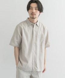 URBAN RESEARCH/【予約】高機能リネンショートスリーブシャツ/503008100