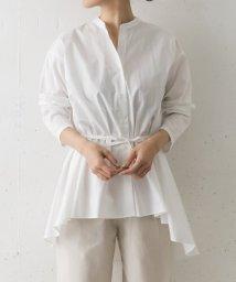 URBAN RESEARCH DOORS/mizuiro ind band collar flare shirts/503008429