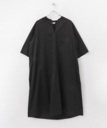 URBAN RESEARCH DOORS/Scye Cotton Satin Sac Dress/503008437