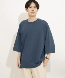 SENSE OF PLACE/エクストラルーズTシャツ(5分袖)/503008449