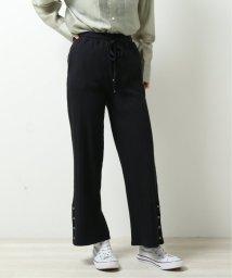 DOUBLE NAME/ランダムテレコ裾ボタンパンツ/503008575
