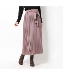 STYLEBLOCK/スタイルブロック STYLEBLOCK トロピカルリボン付きプリーツスカート (ラベンダー)/502899878