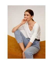 MANGO/Tシャツ .-- PIKI (ホワイト)/502951036