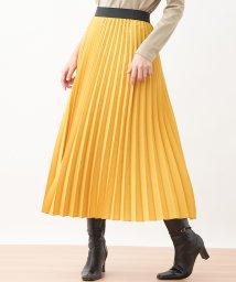 CARA O CRUZ/ロングプリ-ツスカート/502966816