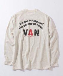VANJACKET/ロングスリーブTシャツ<バックロゴ>/502979234