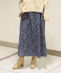 Eimy Peal by POWDER SUGAR/【セットアップ対応商品】花柄プリントロングスカート/502982611