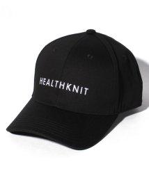 JNSJNM/【HEALTHKNIT】シンプルロゴキャップ/502984718