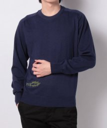 Orobianco(Wear)/クールマックス/綿麻クルーニット/502986255