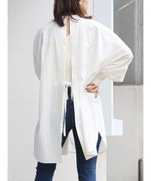 Ungrid/ハイネックバックオープンドレスシャツ/502987359