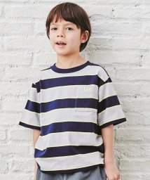 green label relaxing (Kids)/【キッズ】〔WEB限定〕LEE(リー)マルチボーダーTシャツ/503008778
