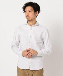 GLOSTER/リバーシブルドビー パラシュートボタンシャツ/503008785