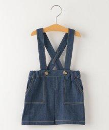SHIPS KIDS/SHIPS KIDS:デニム ジャンパー スカート(80~90cm)/503009708