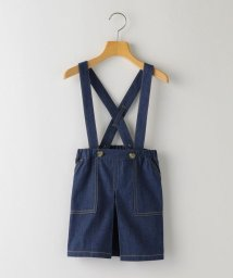 SHIPS KIDS/SHIPS KIDS:デニム ジャンパー スカート(100~130cm)/503009709