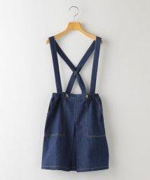 SHIPS KIDS/SHIPS KIDS:デニム ジャンパー スカート(140~150cm)/503009711
