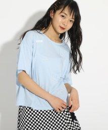 PINK-latte/WE背中あきTシャツ/503010229