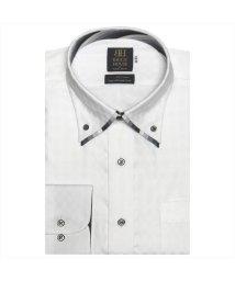 BRICKHOUSE/ワイシャツ 長袖 形態安定 ボタンダウン ダブルカラー 市松格子織柄 標準体/503010301