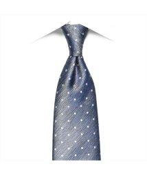 BRICKHOUSE/ネクタイ / ビジネス / フォーマル / 絹100% ブルー系 ドット柄/503010307