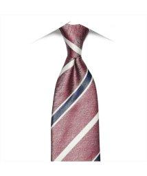 BRICKHOUSE/ネクタイ / ビジネス / フォーマル / 絹100% エンジ系 ストライプ柄/503010316