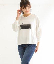 Honeys/フォトプリントTシャツ/503010519