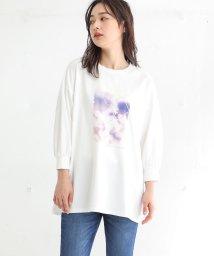 Honeys/フォトプリントTシャツ/503010523